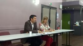 Mont-de-Marsan, avec Céline Piot, sept 2014