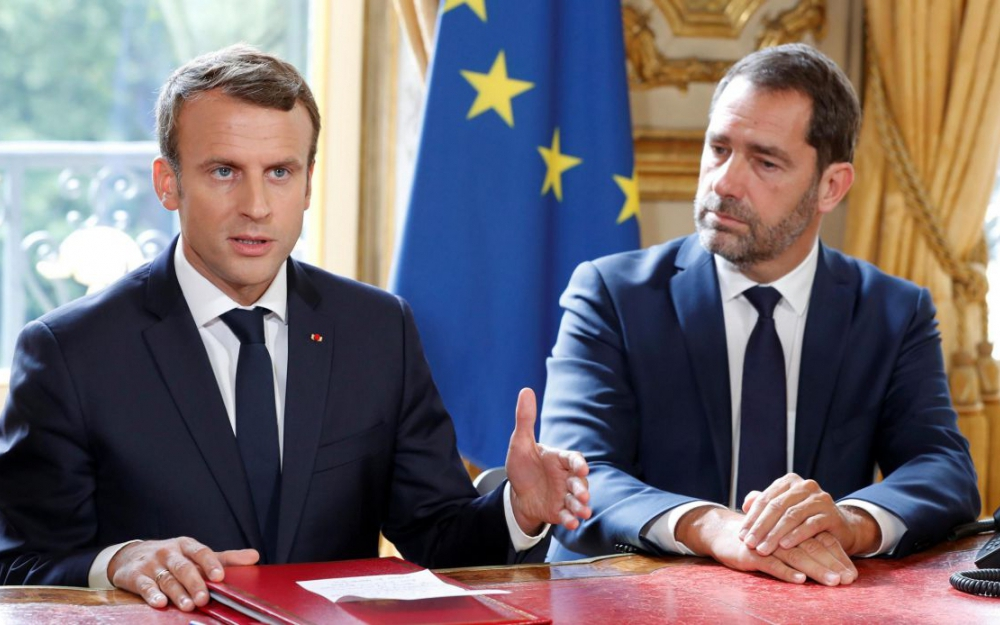 L'Europe impopulaire - Page 21 Macron-castaner