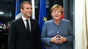 Qui est Emmanuel Macron ? - Page 25 Franceallemagne-macronmerkel-heureux